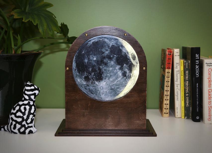 Moon Phase Clock