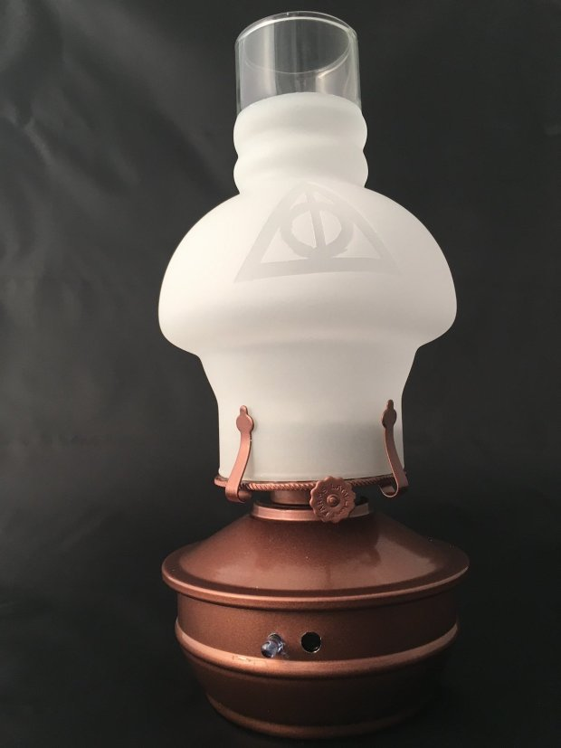 Raspberry Potter Lamp