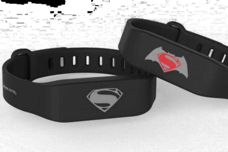 Superman EZ Link Wearable Tech