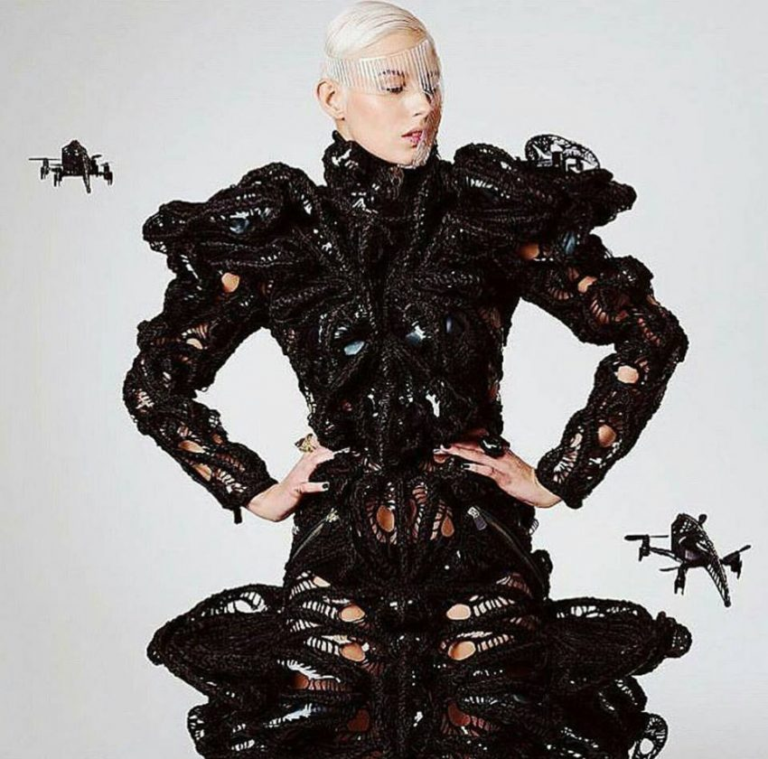 TranSwarm Drone Dress