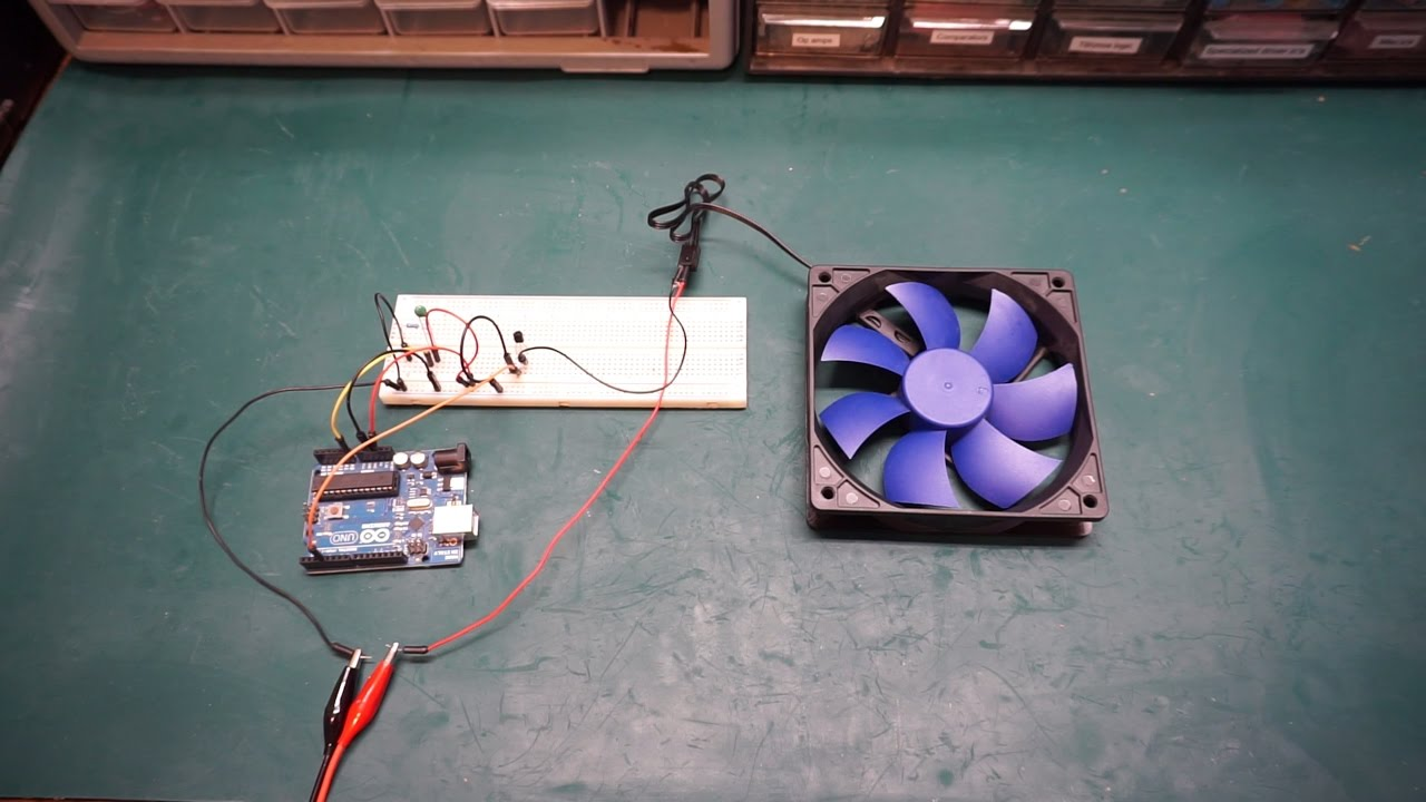 interactive environments lab Controlling 12 V fan with