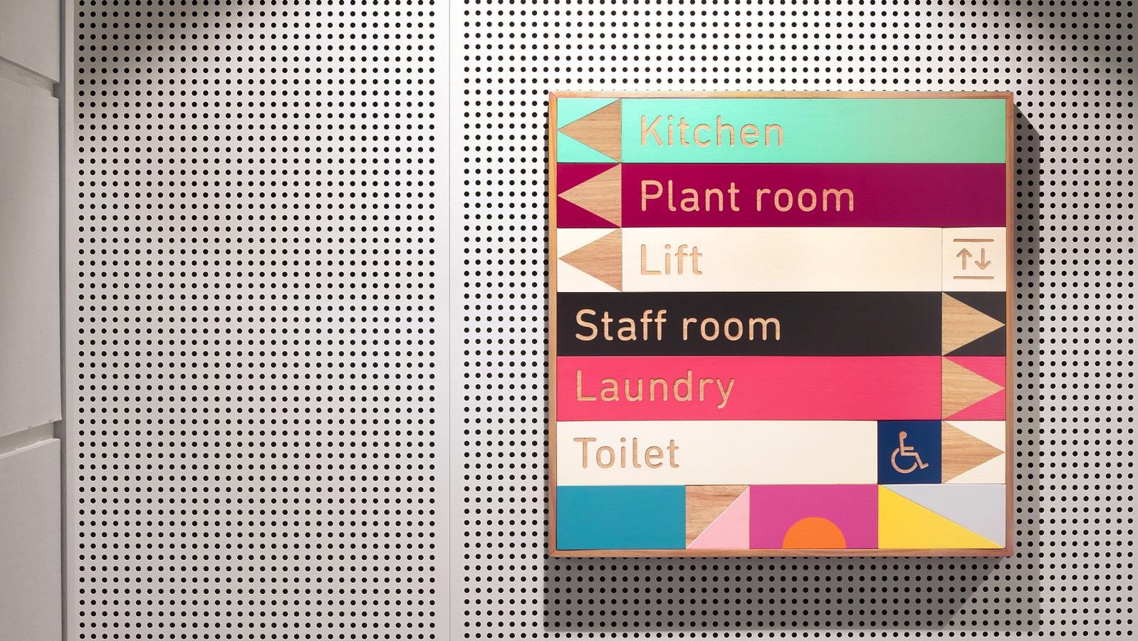 Building blocks toko design graphics signage dezeen hero