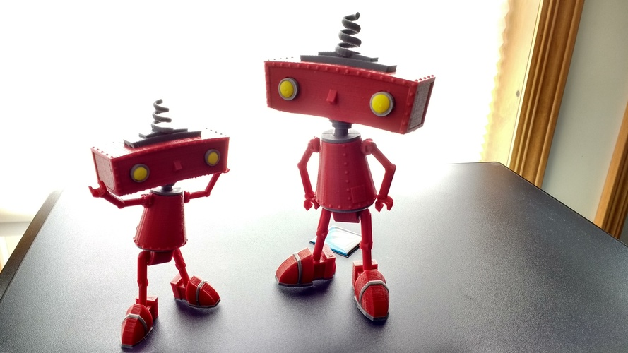 3D Printable Bad Robot Figurine « Adafruit Industries