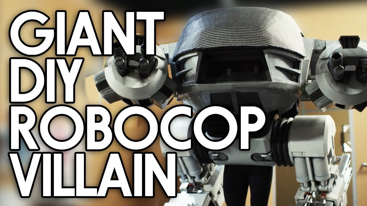 Diy Robocop Ed 209 Costume Adafruit Industries Makers Hackers