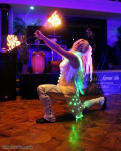 LED poi dancer Fire pixie
