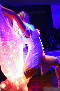 LED Isis Wing Dancer Fire Pixie