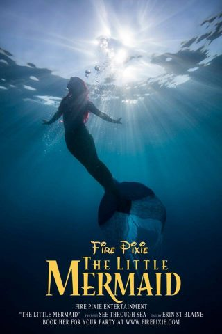 The Little Mermaid Fanfic Poster
