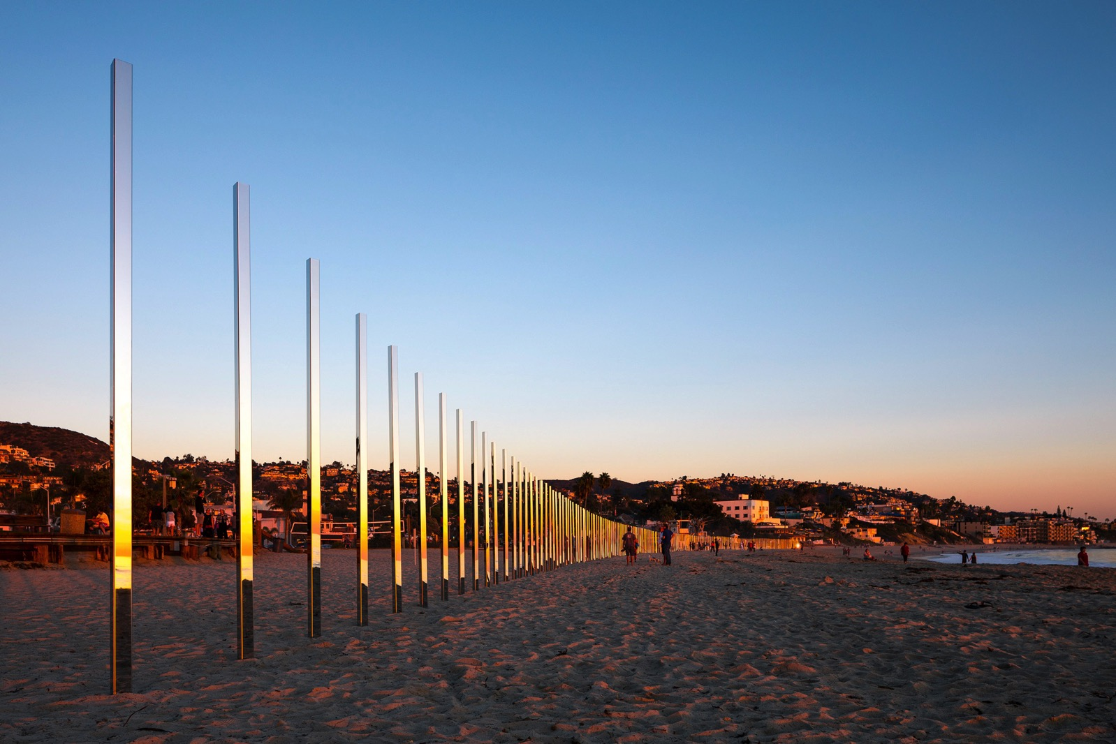 Quarter mile arc phillip k smith iii design installation california usa dezeen 2364 col 15