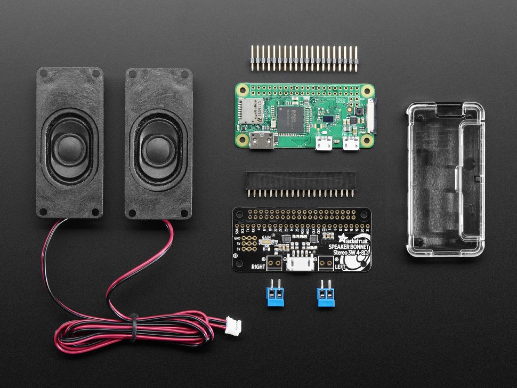Raspberry pi zero w project kit