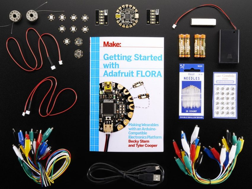 Adafruit FLORA Book Pack