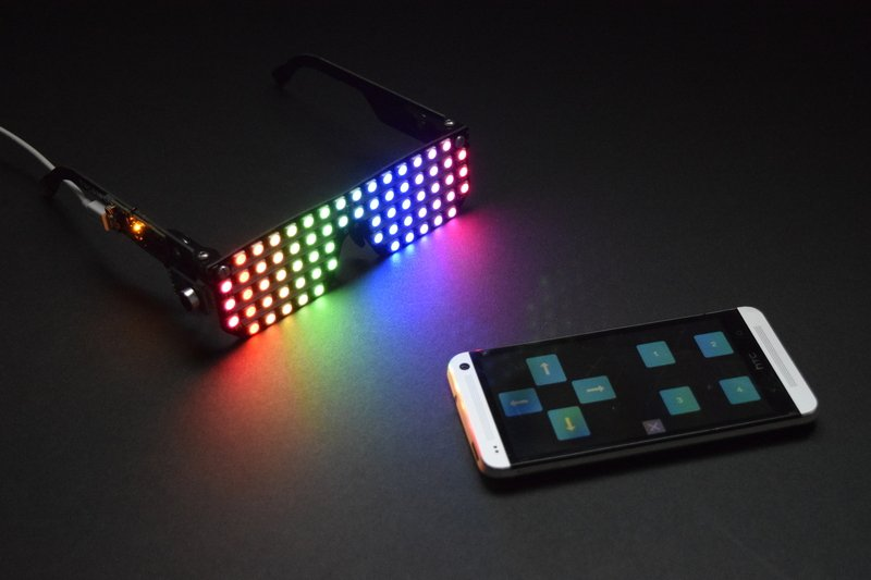 Adafruit Glasses Hack