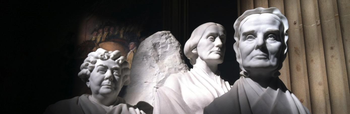 Susan b anthony memorial statue H