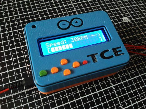Arduino UNO LCD keypad case #3DThursday #3DPrinting