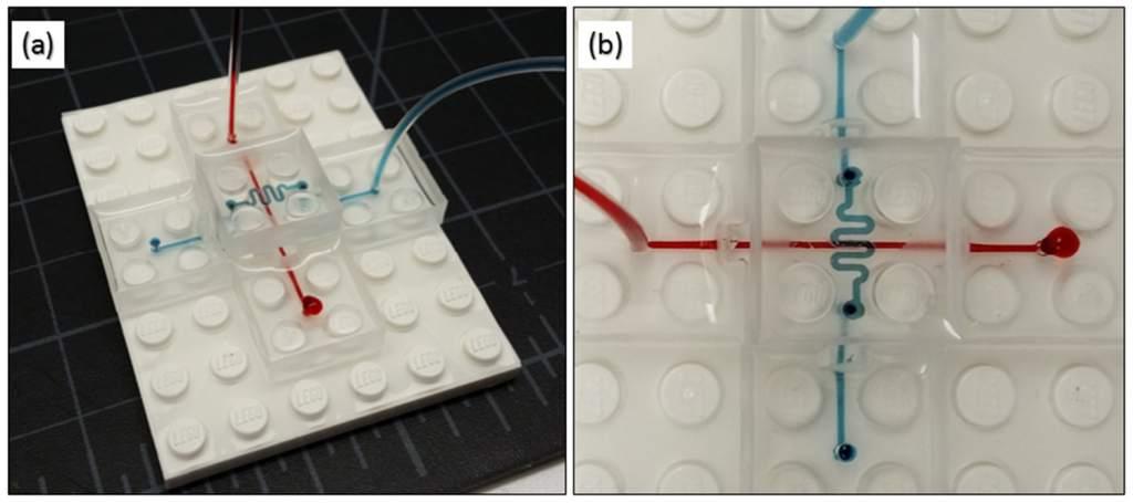 Lego like modular microfluidics platform