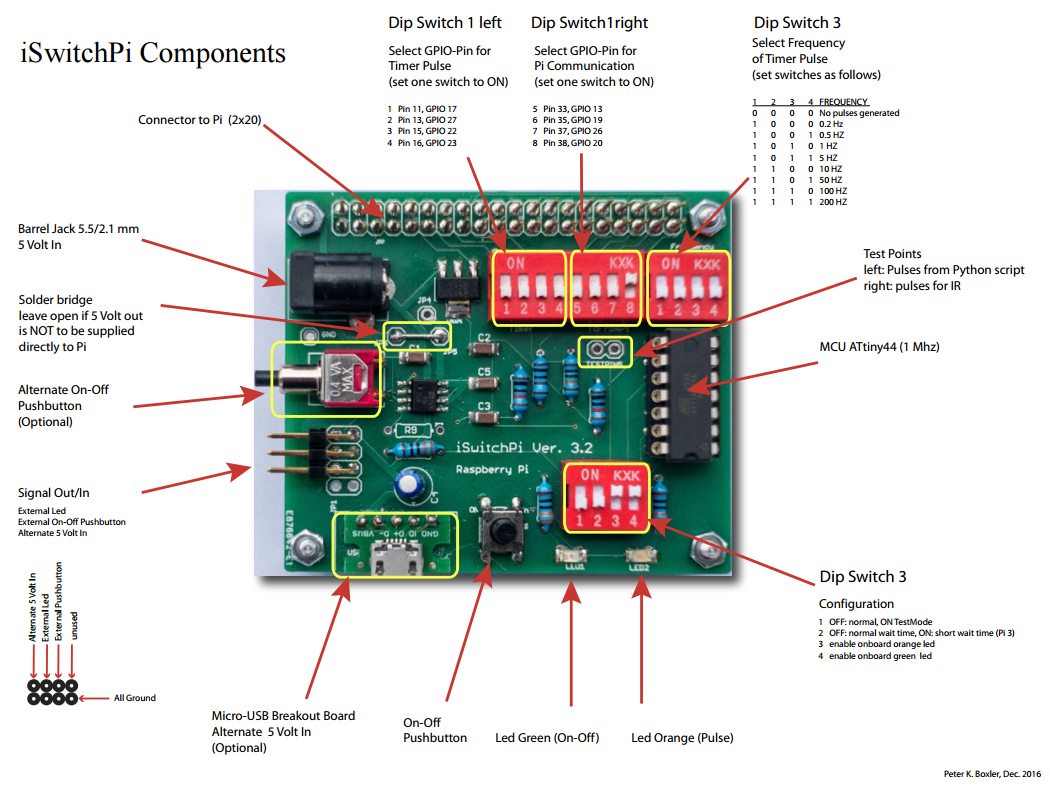 Iswitchpi Adds An Intelligent Power Switch To Your Raspberry Pi How Make One Two Or Three Circuits Native Does Not Have On Off And There Is No Easy Way Shutdown The While Keeping Filesystem Intact