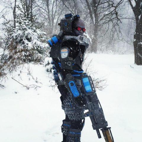 arkham city mr freeze costume in the snow 171 adafruit