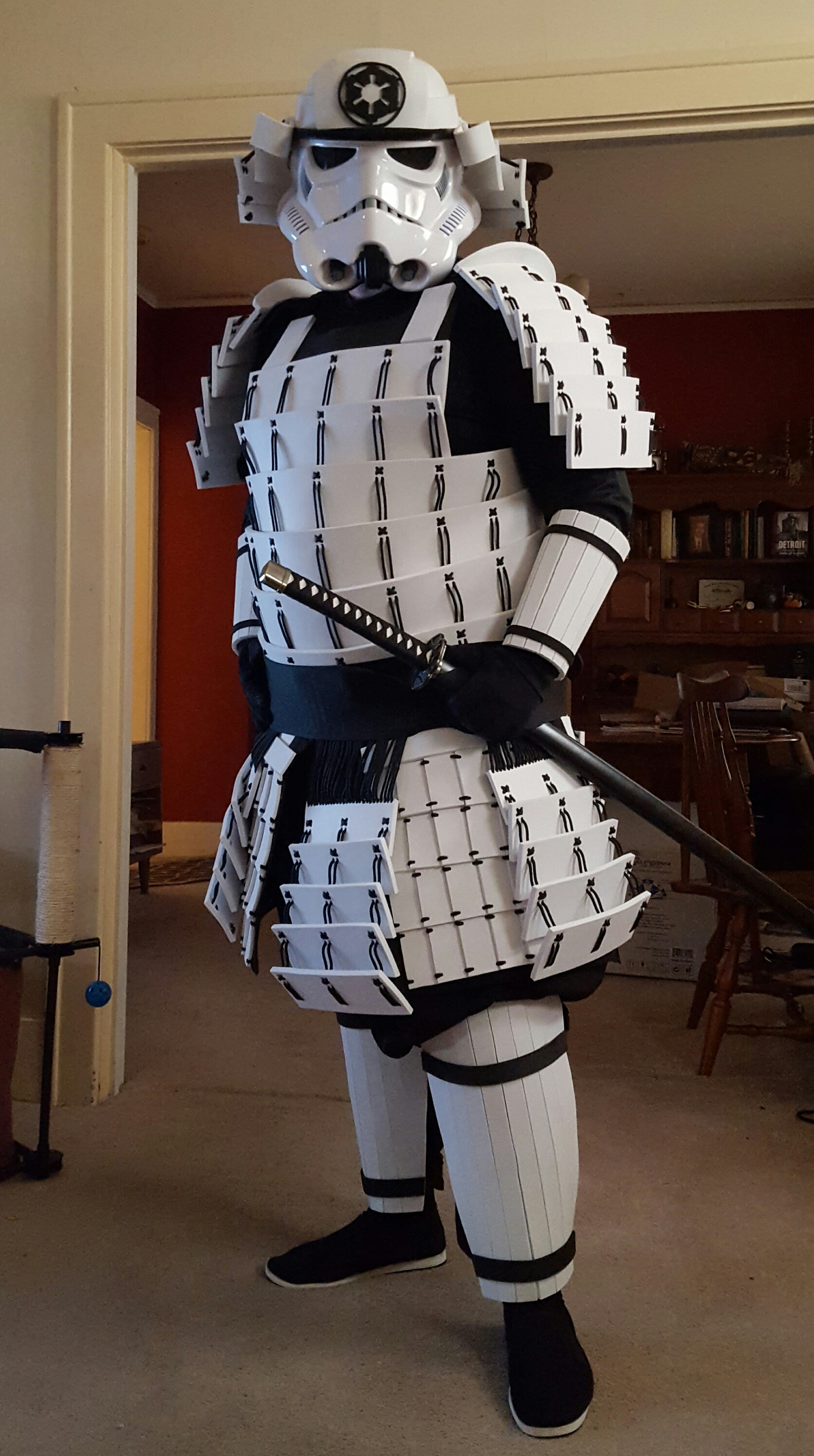 Stormtrooper Costume with a Samurai Spin & Stormtrooper Costume with a Samurai Spin « Adafruit Industries ...