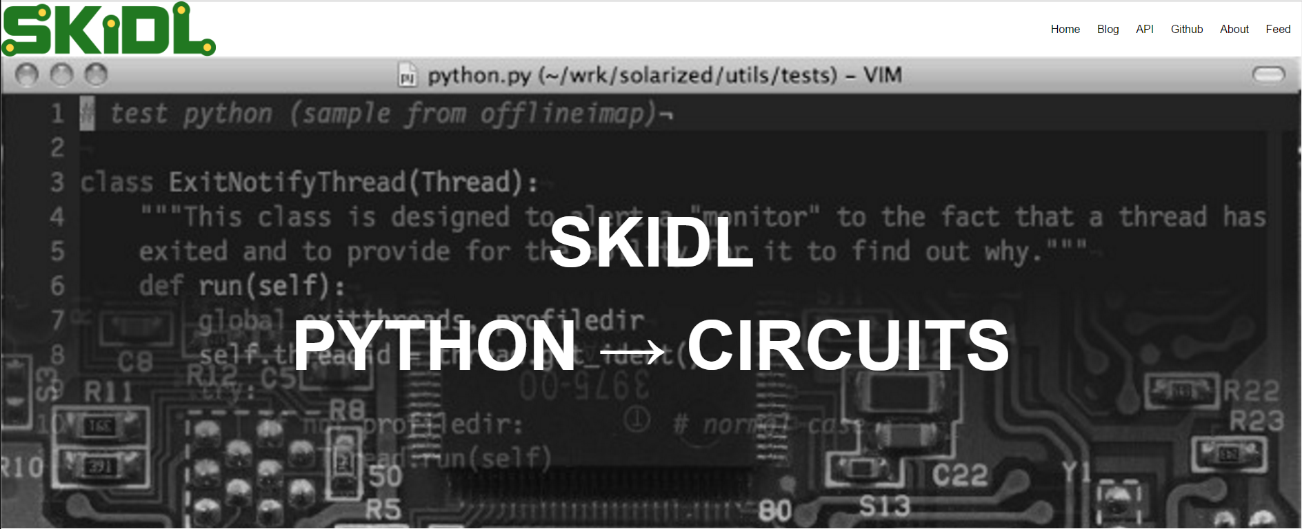 SKIDL: Use Python to Describe Electrical Connections, Export Netlist ...