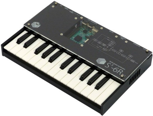 Six-Voice Polyphonic Synthesizer Built Using a Raspberry Pi #piday