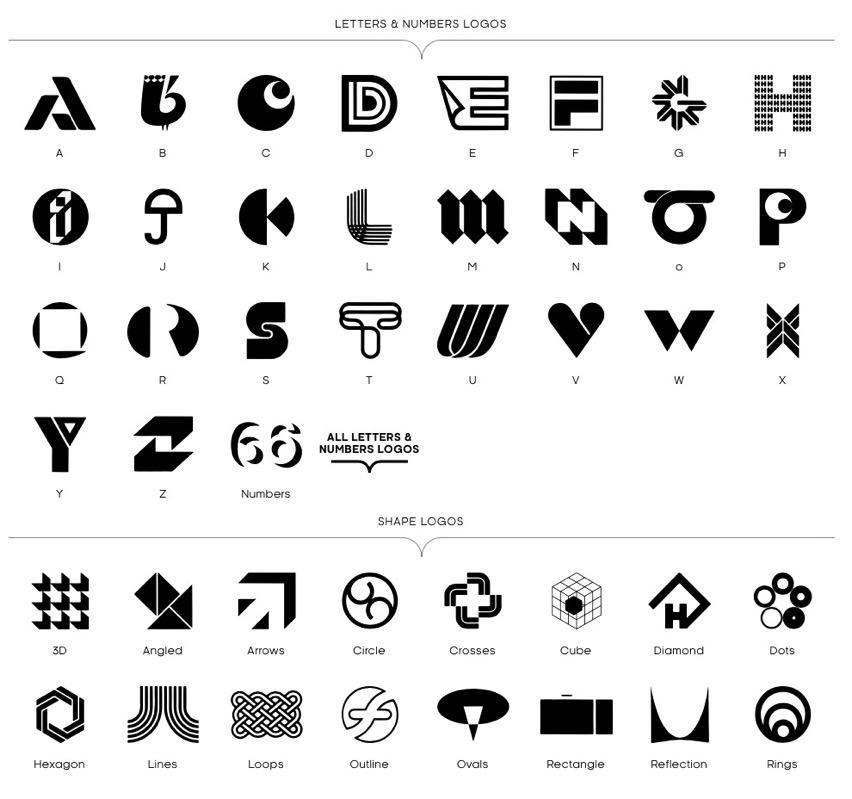 logobook  showcasing logos  symbols  u0026 trademarks