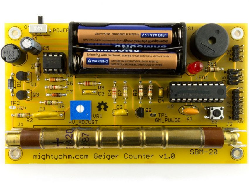 Adafruit Geiger Counter Kit