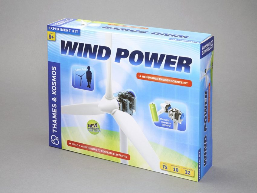Thames and Kosmos Wind Power Kit