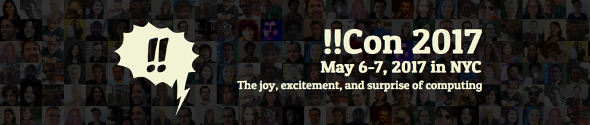 The joy excitement and surprise of computing Con 2017