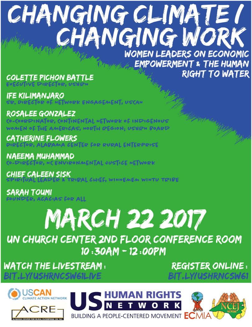 USHRN WWD UN CSW Side Event Flyer 3 22 17