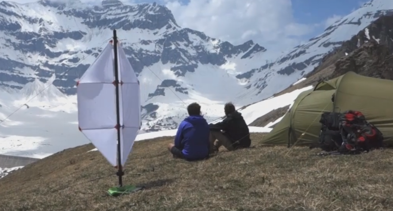 Wind Turbine for Hikers
