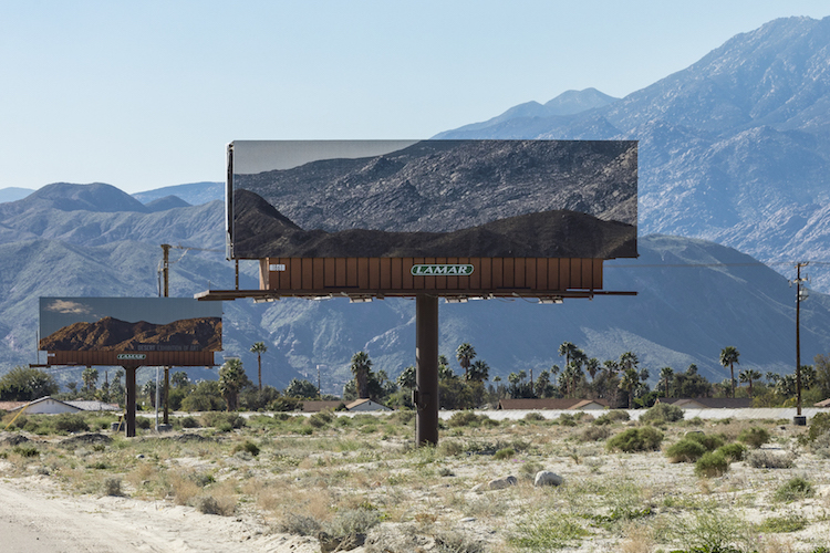 Jennifer bolande desert x desert billboards installation 2
