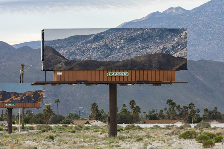 Jennifer bolande desert x desert billboards installation 3