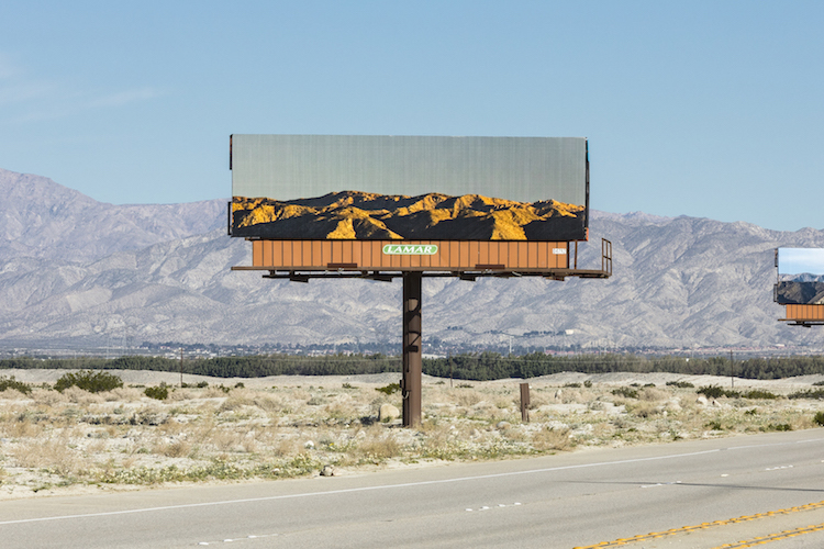 Jennifer bolande desert x desert billboards installation 4