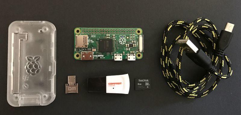 Raspberry pi parts needed
