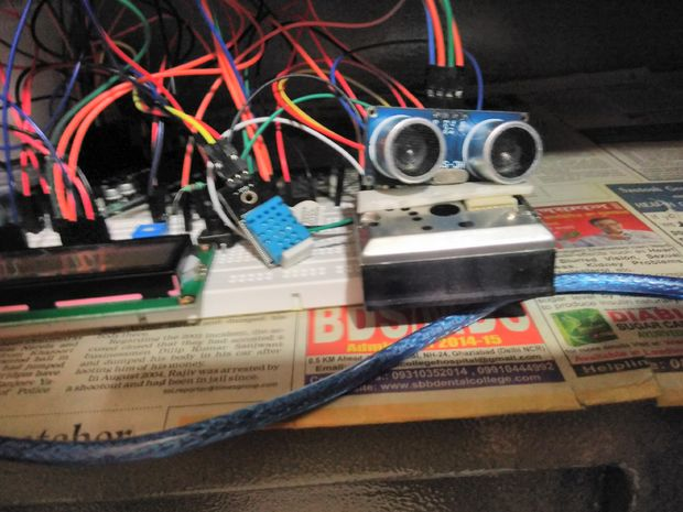 Aerobot Arduino Air Quality Monitor