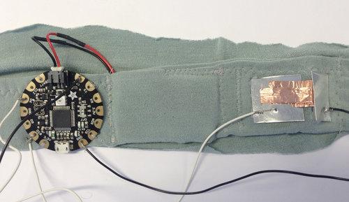 Express shirt sensor