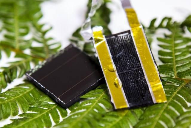 Graphene electrode solar
