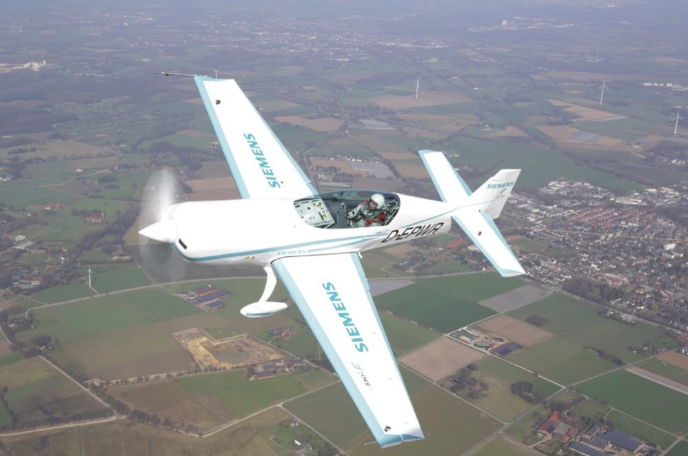 Siemens airbus electric plane world record glider 3