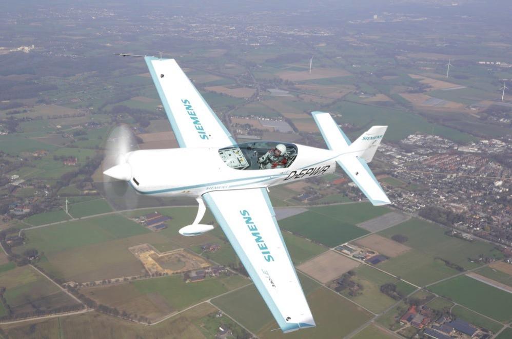 Siemens airbus electric plane world record glider 3
