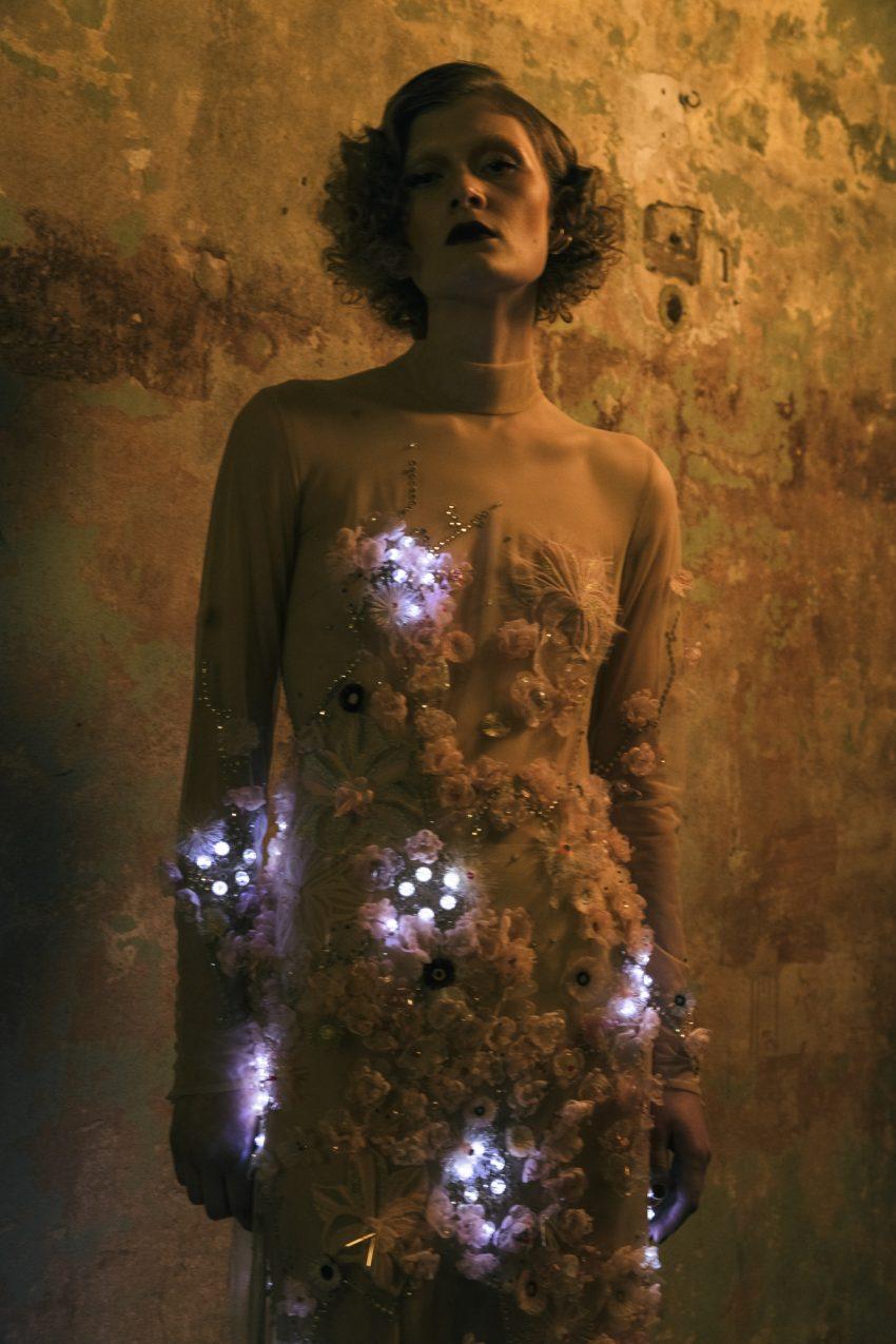 Marlene Glows Tech Dress