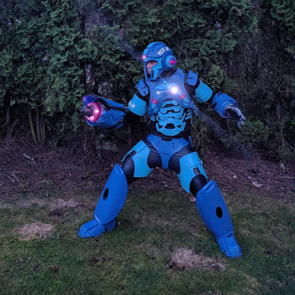 Arduino: This Mega Man Costume Was Made For $50 « Adafruit