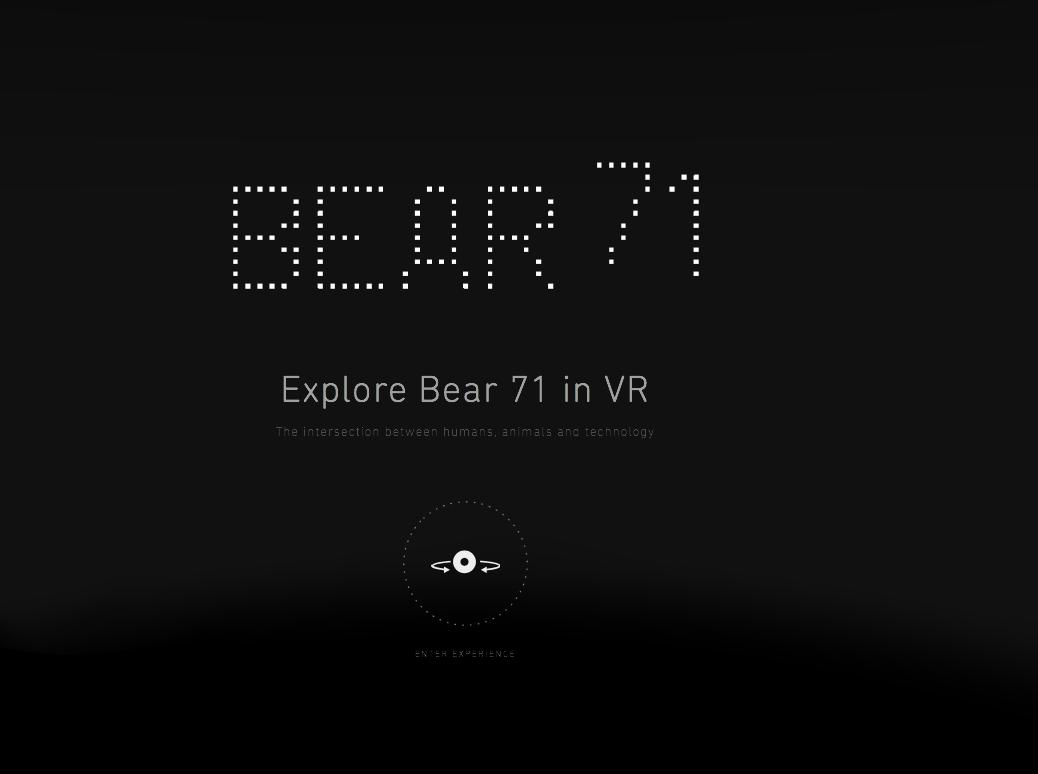 NFB Interactive Bear 71 VR