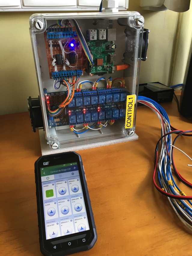 Smart Irrigation System Made With Raspberry Pi Piday