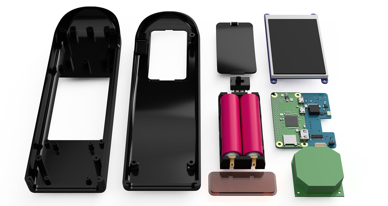 Homemade Wireless Barcode Scanner Built with Pi Zero