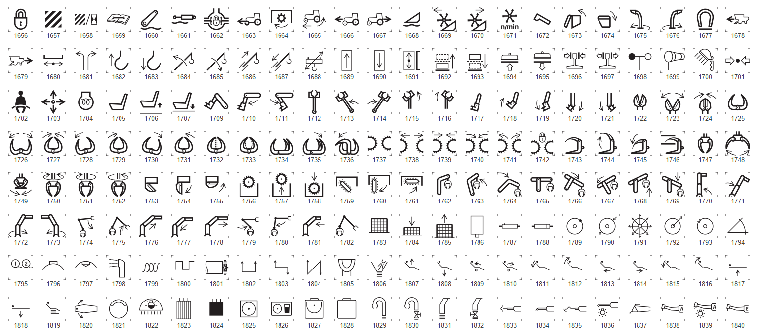 View all the iso 7000 iec 60417 graphical symbols for use on from heavy machinery operating symbols to the numerous and varied laundry icons to the hair grabbing what does that icon mean buycottarizona