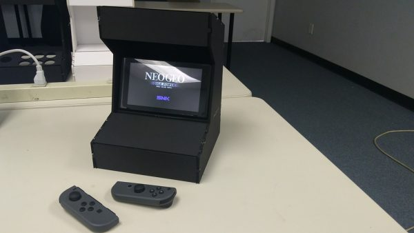 Nintendo Switch Arcade Cabinet 3dthursday 3dprinting