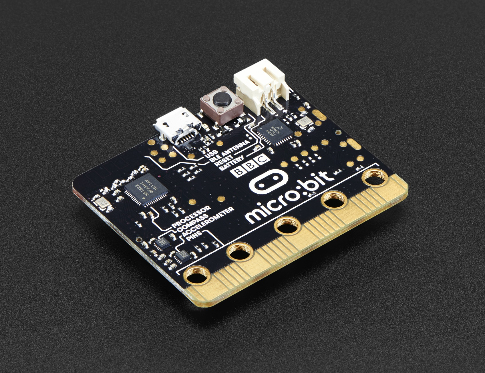 Bbc Micro:bit Nrf51822 Development Board Micro-controller With Motion Detection Compass Led Display And Bluetooth High Quality Electronic Components & Supplies Active Components