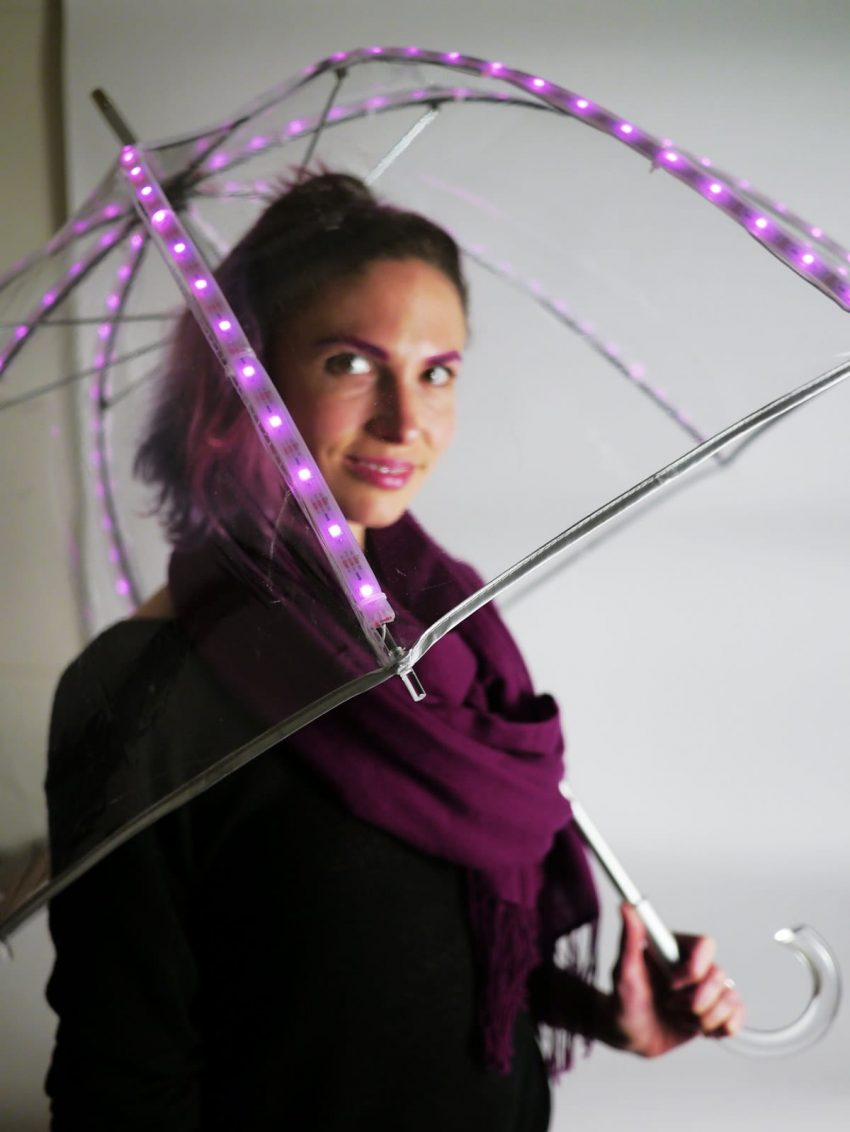 Rachel's LED Tech Umbrella