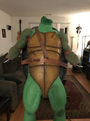 Cowabunga: A WIP Teenage Mutant Ninja Turtle Costume « Adafruit Industries - Makers, hackers ...
