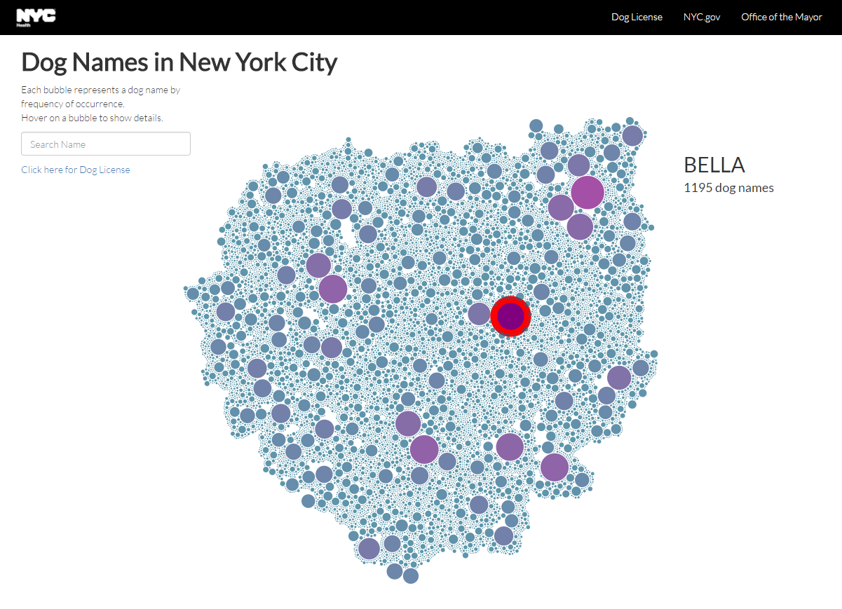 NYC Is So OpenData It Has A Bubble Map  Neighborhood Map Of - New york neighborhood map