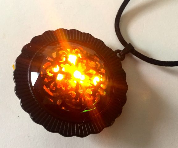 Neopixel Necklace